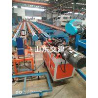 山东交建全自动棒材锯切套丝机器人SJJQ500锯切套丝一体机