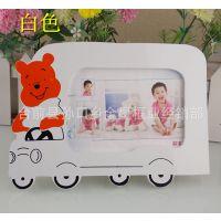 特价7.12.16寸可爱汽车熊 卡通 艺术影楼儿童相框 相框批发