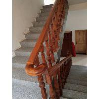 三亚木制楼梯定做_三亚制作楼梯扶手纯实木质量保证