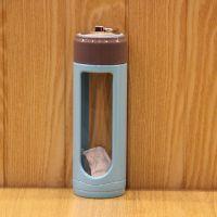 厂家批发耐热玻璃杯带盖车载水瓶透明水杯创意便携防漏杯子