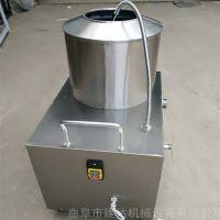 一次加工50斤土豆去皮机 清洗效率高3-4分钟