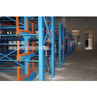福建重型钢管存放架 伸缩式货架图片 行车专用架