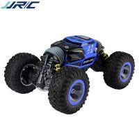 JJRC 1:8越野车特技双面四驱高速攀爬大脚怪扭变车男孩儿童玩具