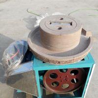 四川致富小机器豆浆豆腐加工石磨机 磨坊专用电动豆浆石磨机