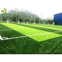 广西学校足球场人造草坪工程施工建设 康奇体育包工包料