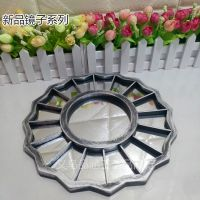 厂家直销塑料镜框银色古铜色复古镜框外贸中东采购产品跨镜专供