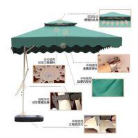 四方伞伞大太阳伞户外庭院伞沙滩伞3米遮阳伞折叠防风长方形摆摊