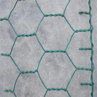 pvc覆膜格宾网 铁丝石笼网 绿色防洪格宾网生产