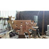 中式实木斗拱_古建寺庙斗拱设计素材_实木雕刻斗拱样式