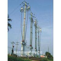 厦门市供应110kv90度双回路转角电力钢杆 耐张钢杆 金属钢杆 设计图纸 基业