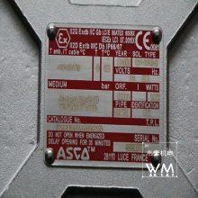 原厂原装供应世格ASCO二位四通电磁阀WSNF8327B101MO质保一年