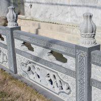 建筑装饰石雕栏杆石拱桥护城河别墅阳台护栏