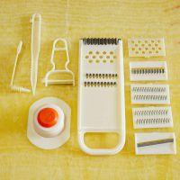 厨房多功能切菜器 手动萝卜土豆丝切丝器家用切片器刨皮器