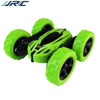 JJRC D828新奇遥控特技双面翻斗车带灯光2.4g儿童充电变形玩具车