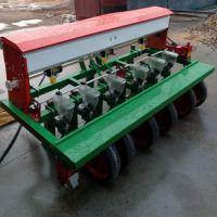 小粒种子精播机/四轮车牵引多行免耕谷子播种机