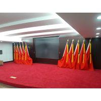 广州会议室党旗制作,新款礼堂旗供应