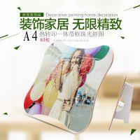 带支架DIY个性定制印照片拼图  热转印空白儿童拼图 骨头型拼图