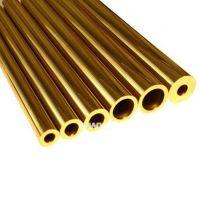 国标h59黄铜棒 H62普通大口径厚壁黄铜管材 H65铜毛细管加工深圳龙岗现货