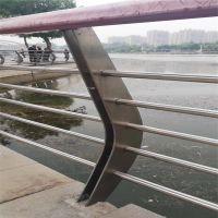 金聚进 定制不锈钢桥梁栏杆公路防撞护栏 景观护栏立柱 道路隔离护栏