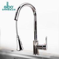 洁博利GIBO感应品牌全铜全自动双感应龙头 厨房智能感应水龙头