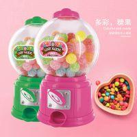 韩版大号糖果机 彩色塑料手动扭糖机儿童圣诞礼物塑料工艺品钱罐