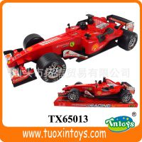 *出厂直销新款惯性方程车(带灯光音乐) 儿童F1赛车模型玩具批发