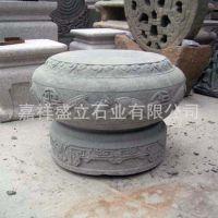 专业厂家仿古空心柱基石 古建石雕柱础 柱墩石价格
