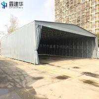 怀远市厂家定做大型雨棚(布) 移动仓库帐篷 折叠户外遮阳蓬选材精良