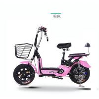 陆鸣威新款电动自行车48v福利成人电瓶车单车小型踏板助力车代理