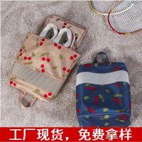 【专利产品】safebet户外防水手提袋旅行收纳鞋袋樱桃款(M号)