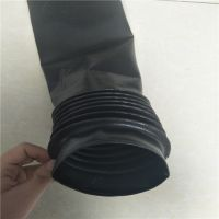 吉迈特自然领口丝杆保护套 液压丝杠护套 耐磨橡胶防尘罩