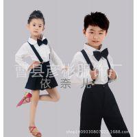 秋季新款长袖儿童合唱服中小学生诗歌朗诵服男女童集体舞蹈表演服