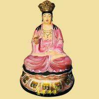 树脂彩绘贴金观音 文殊菩 普贤菩萨十二老母神像河南佛像厂供应