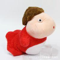 外贸热销 日本经典动漫宫崎骏系列毛绒公仔玩具波妞金鱼公仔玩偶