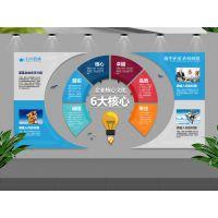 北京天雨专业设计大中小企业文化墙