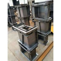水泥预制水槽铁模具操作简单易脱模