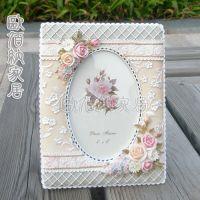 6寸厂家直销混批日韩田园树脂欧式相框相架像框影楼婚纱相框