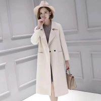 广西时尚女装品牌折扣批发 欧迪雅文18冬双面羊绒大衣 尾货工厂直销低价批发