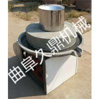 电动石磨豆浆机 上不转下转石磨机 豆制品机械加工设备