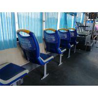 外地客户投放长沙公交广告--长沙公交车座椅靠背广告