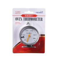 烤箱温度计烘焙工具悬挂式平放家用烤箱温度计可不锈钢
