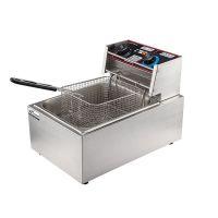 小型油炸锅薯条机电炸锅家用迷你炸油饼榨咋东西烧烤机麻花署条炉
