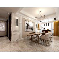 山水装饰公司设计玫瑰园小区装修200平四室两厅的房子设计效果图