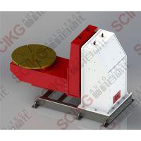 山东非标自动化厂家定制 帅科全自动伺服焊接变位机 工业机械手焊接辅机 翻转台