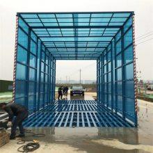 郑州工地门口渣土车全封闭洗车机,9米长全覆盖工地冲洗设备NRJ厂家电话