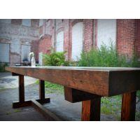 【防腐工艺】防腐木板材加工定制实木桌椅;港榕木结构