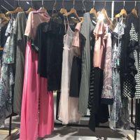 上海艾安琪品牌女装精品大码连衣裙 一手货源厂家清仓直销哪里有