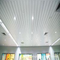 河北条形铝扣板天花厂家直销 家居用品专卖店铝板加油站吊顶材料