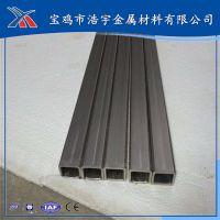 TA2 Gr2 25x25mm 钛方管 钛无缝方管