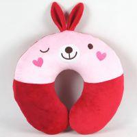 厂家定做u型枕头护颈枕 可爱卡通颈椎枕 活动促销礼品